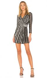 Parker Black Kelsey Dress in Silver from Revolve com at Revolve