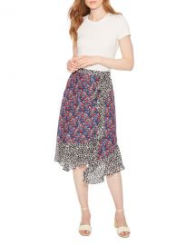 Parker Collins Combo Skirt at Neiman Marcus