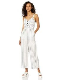 Parker Dominica Sleeveless Button Front Cutout Jumpsuit at Amazon
