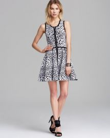 Parker Dress - Landon Zip Front at Bloomingdales