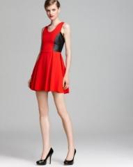 Parker Dress - Olivia Color Block at Bloomingdales