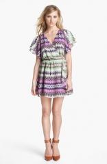 Parker Flora Silk Wrap Dress at Nordstrom