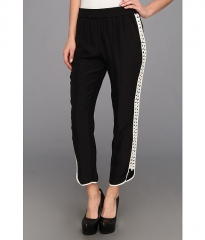 Parker Grayson Combo Pant Black at Zappos