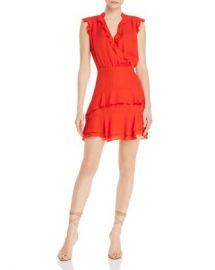 Parker Tangia Silk Ruffle Dress Women - Bloomingdale s at Bloomingdales