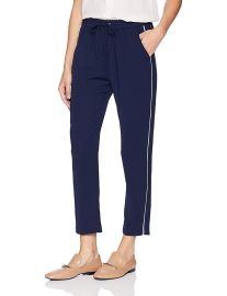 Parker Women s Cassius Relaxed Stripe Elastic Waist Pant at Amazon