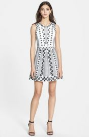 Parker and39Kylaand39 Stretch A-line Dress at Nordstrom
