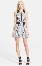 Parker and39Neveand39 Fit andamp Flare Dress at Nordstrom