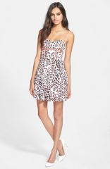 Parker and39Rolandand39 Print Silk Fit andamp Flare Dress at Nordstrom