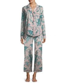 Parrots Long Pajama Set at Desmond & Dempsey