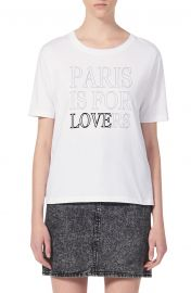 Pary Paris Is For Lovers Graphic Cotton Tee at Nordstrom