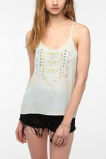 Pastel Studded cami at Urban Outfitters at Urban Outfitters