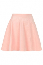 Pastel pink skirt from Topshop at Topshop