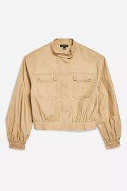 Patch Pocket Crop Jacket at Topshop