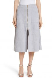 Patch Pocket Suede Midi Skirt by Diane von Furstenberg at Nordstrom Rack