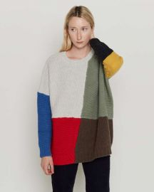 Patchwork Adams Sweater at Entireworld