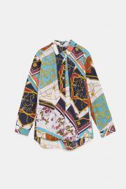 Patchwork Blouse by Zara at Zara