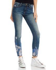 Patchwork Skinny Jeans by Aqua at Bloomingdales