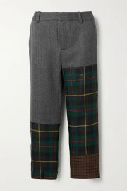 Patchwork Wool-Blend Pants by Monse at Net A Porter