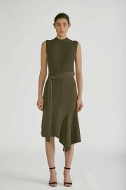 Patchwork knit dress at Orchard Mile