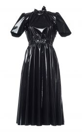 Patent Midi Dress by MSGM at Moda Operandi