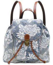 Patricia Nash Casape Denim Backpack at Macys