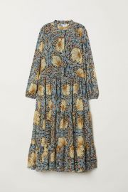 Patterned Maxi Dress at H&M