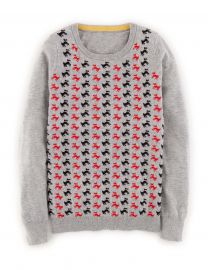 Patterned Sweater at Boden