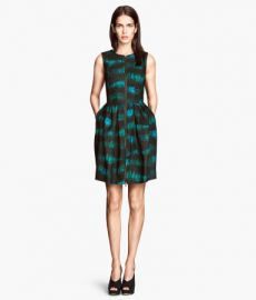 Patterned dress at H&M