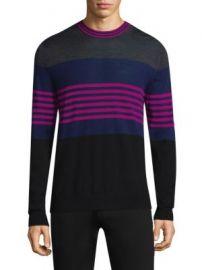 Paul Smith - Multi-Stripe Crewneck Sweater at Saks Fifth Avenue