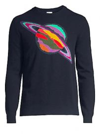Paul Smith - Saturn Knit Lambs Wool Sweater at Saks Fifth Avenue