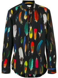 Paul Smith Feather Print Shirt at Farfetch