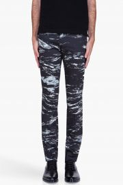 Paul Smith Water Print Trousers at SSENSE