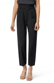 Payton Belted High Waist Ankle Trousers at Nordstrom