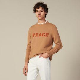 Peace sweater at Sandro
