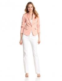 Peach jacket by Jones New York at Amazon