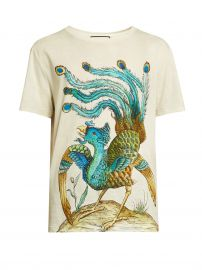Peacock tshirt by Gucci at Matches