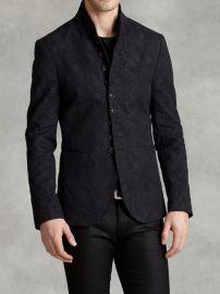 Peak Lapel Multi Button Jacket at John Varvatos
