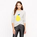 Pear sweater at J Crew at J. Crew