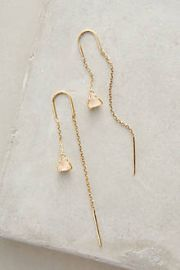 Pearblossom Threaded Earrings at Anthropologie