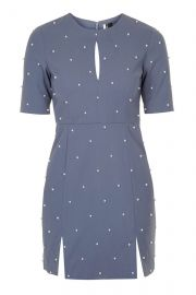 Pearl A-Line Dress at Topshop