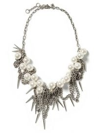 Pearl Spike Necklace at Banana Republic