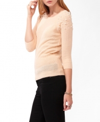 Pearlescent sweater at Forever 21