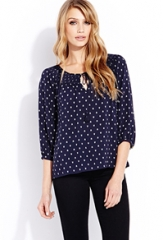 Peasant blouse at Forever 21