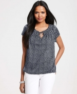 Peasant style top at Ann Taylor at Annetaylor