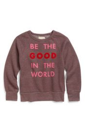 Peek and39Be The Good in the Worldand39 Crewneck Sweatshirt at Nordstrom
