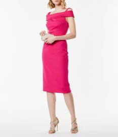 Pencil Bardot Dress by Karen Millen at Bloomingdales