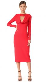 Pencil Dress with Cowl at Shopbop
