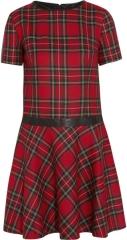 Penny tartan dress by Karl Lagerfeld at Net A Porter