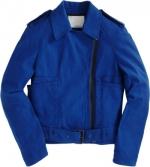 Pennys blue jacket at Barneys at Barneys
