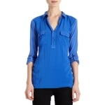 Penny's blue top at Barneys